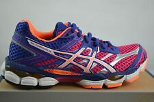Asics Gel Cumulus 16 Hot Pink Blanco Zapatillas Running Zapatos Jogging Zapatos