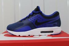 MEN,S NIKE AIR MAX ZERO ESSENTIAL PARAMOUNT BLUE/WHITE/BLACK 876070-001 BNIB  36
