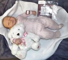RARE Ashton Drake Galleries real born reborn  baby doll ~ welcome home Emily