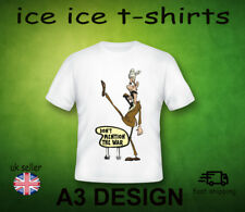 BASIL FAWLTY   DONT MENTION THE WAR     ADULT WHITE T-SHIRT   FRUIT OF THE LOOM