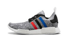 ORIGINAL ADIDAS NMD_R1 PRIMEKNIT TRAINERS GREY BLUE RED WHITE BLACK BB2888