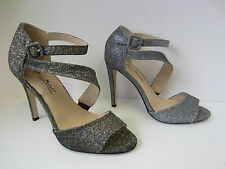 da donna color argento/oro tacchi alti Anne Michelle Scarpe festa UK Sizes 3 - 8