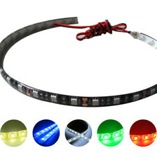 DC12V 1M 60LED SMD 5050 Tira de LED Black PCB Waterproof Single Colour LED Strip