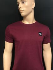 STONE ISLAND CREW NECK SHORT SLEEVE T-SHIRT FOR MAN