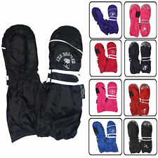 Thermohandschuhe Fausthandschuhe MaxiMo Kinder Winter Handschuhe Thinsulate Rot