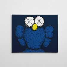 Kaws BFF Companion Gallery Art Canvas Size 11x14