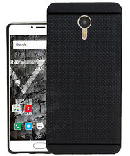 360* Protection Dotted Design Soft Back Cover For Yu Yunicorn Yu5530 -Black