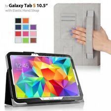 """Slim PU Folio Leather Case Stand Cover Folding For Samsung Galaxy Tab S 10.5"""""""