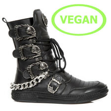New Rock Vegane Gothic EBM Metal Sneaker Freizeitschuhe Boots Stiefel M.PS048-V1