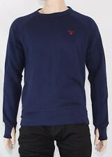 Gant Race Herren Pullover C-Neck Sweat Sweatshirt 276130 Shadow blue blau