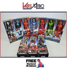 "MARVEL 12 Inch Titan Hero Series Action Figures Avengers Spiderman Thor 12"" New"