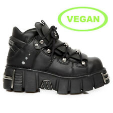 New Rock M.106-VC1 Gothic Vegane EBM Metal Alternative Ankle Boots Schuhe Shoes