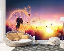 Wall Mural Photo Wallpaper Picture EASY-INSTALL Fleece Dandelion Art Image Decor