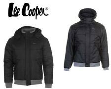 Mens Lee Cooper Ribbed Padded Jacket