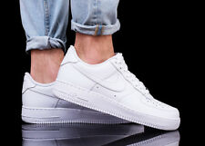 Nike Air Force 1 '07 Baskets pour homme Chaussures de sport blanc neuf