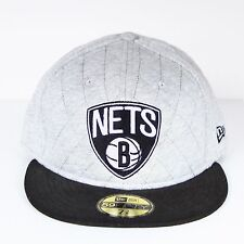 Casquette SOUS LICENCE New Era Nets brooklyn Melton G/N 59 fifty NEUF