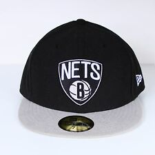Casquette SOUS LICENCE New Era Nets brooklyn n/vg 59 fifty NEUF