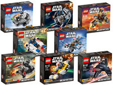 LEGO Star Wars Microfighter Series 3+4 75125 - 75129,75160 - 75163 to Select