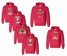 Christmas Lets Get Blitzened Hoodie Pullover Dnt Stop Believing Funny Sweater