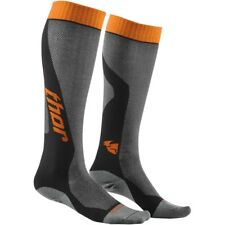 Thor MX Cool Socks Motocross Enduro Kniestrümpfe Socken grau/orange