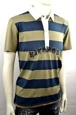 John Richmond B104 POLO UOMO MANICHE CORTE COLLETTO POLO COLLETTO POLO TGL XXL