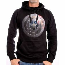 Sweat-shirt Captain America Marvel - Captain shield silver - Neuf
