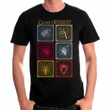 Tshirt Game Of Thrones - Badges of the King - Neuf