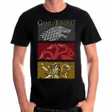 Tshirt Game Of Thrones - The Houses of the King - Neuf