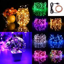 Fairy Lights 100LEDs 10M USB Plastic Novelty String Wire Party Supplies Ornament