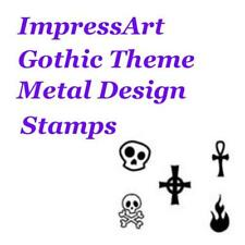 ImpressArt Gothic Theme Metal Stamp Punches Stamping Choose Design
