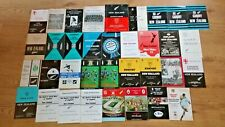 New Zealand Rugby Union Tour Programmes 1953 - 1996