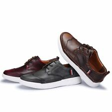 Fashion Men Boys Sneakers Retro Lace Up Casual Comfort Sport Board Shoes British