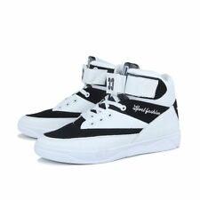 New Fashion Men Boys Sneakers High Top Lace Up Casual Board Shoes Comfort Sport