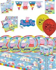 Peppa Pig Party Decorations Supplies Kit - Decorations Packs for 8/16/24 or 32