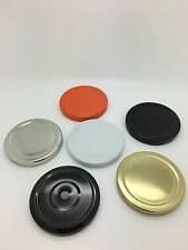 100 x 70mm Twist Off Jam Jar Lid in choice of colours