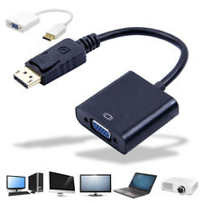 1080p Visualizza PORT DP A CAVO VGA adattatore per Apple MacBook Pro ETC