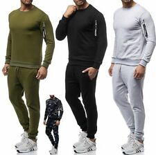Herren Sportanzug Trainingsanzug Jogginghose Sweatshirt Pullover Shirt AT18 NEU
