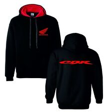 Honda cbr red motorbike motorcycle hoodie hooded top jacket all sizes