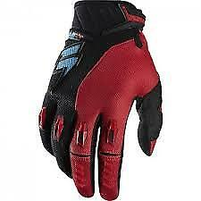 SHIFT FACTION MOTOCROSS GLOVES RED BMX MTB ATV OFF ROAD SIZES S M L XL XXL NEW
