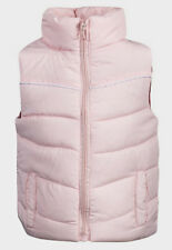 KIDS QUILTED HEAVY PADDED LINED GILET SLEEVELESS BODY WARMER JACKET COAT