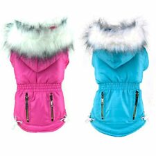 Small Pet Dog Cat Waterproof Coat Winter Warm Hoodie Jacket Pet Clothes Apparel