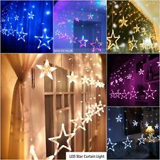 Fairy Lights Star Shape Lamp 138LED USB Operated Flexible Corded Outdoor Decor