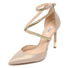 D2396 decollete donna beige/oro GUESS scarpe shoe woman