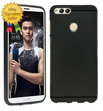 Matte+ Ultra Protection Rubberised Soft Back Cover For Huawei Honor 7X -Black