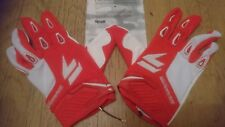 SHIFT FACTION  MOTOCROSS GLOVES RED AND WHITE  MX  BMX MTB ATV  SIZES  XL