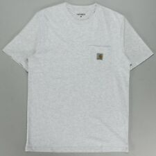 Carhartt Pocket T-Shirt – Ash Heather Brand New in S,M