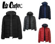 Mens Lee Cooper 2 Zip Bubble Winter Jacket