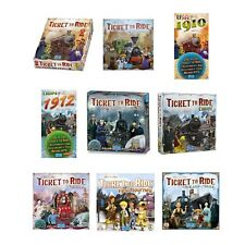 TICKET TO RIDE FULL RANGE OF BOARD GAMES AND EXPANSIONS ORIGINAL/UK/EUROPE/1910
