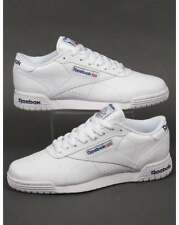Reebok Ex-O-Fit Lo Clean Logo Trainers in White - exofit gym classic (UK Sizes)