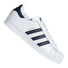 ADIDAS ORIGINALS SUPERSTAR SNEAKER BIANCO BLU